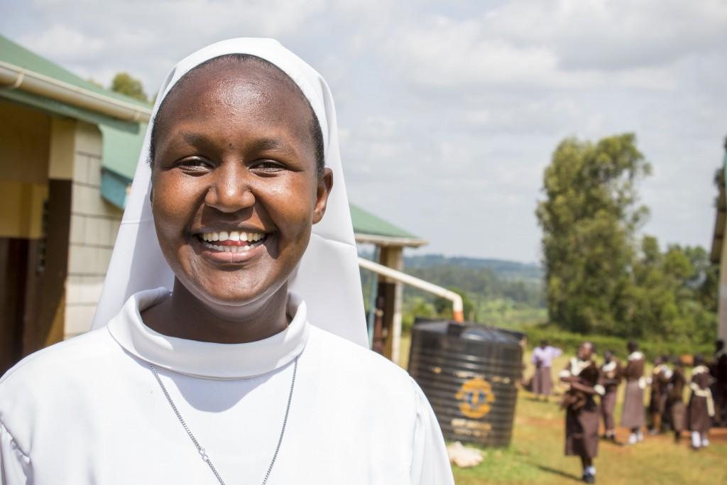 Riaditeľka školy – sestra Veronika.