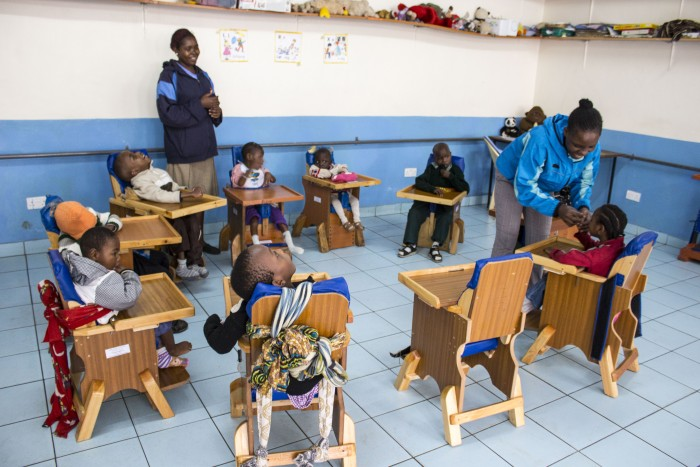 V špeciálnej triede sa ráno začína skupinovými aktivitami