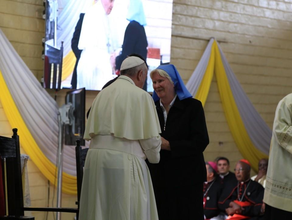 Sr. Mary a Papez Frantisek
