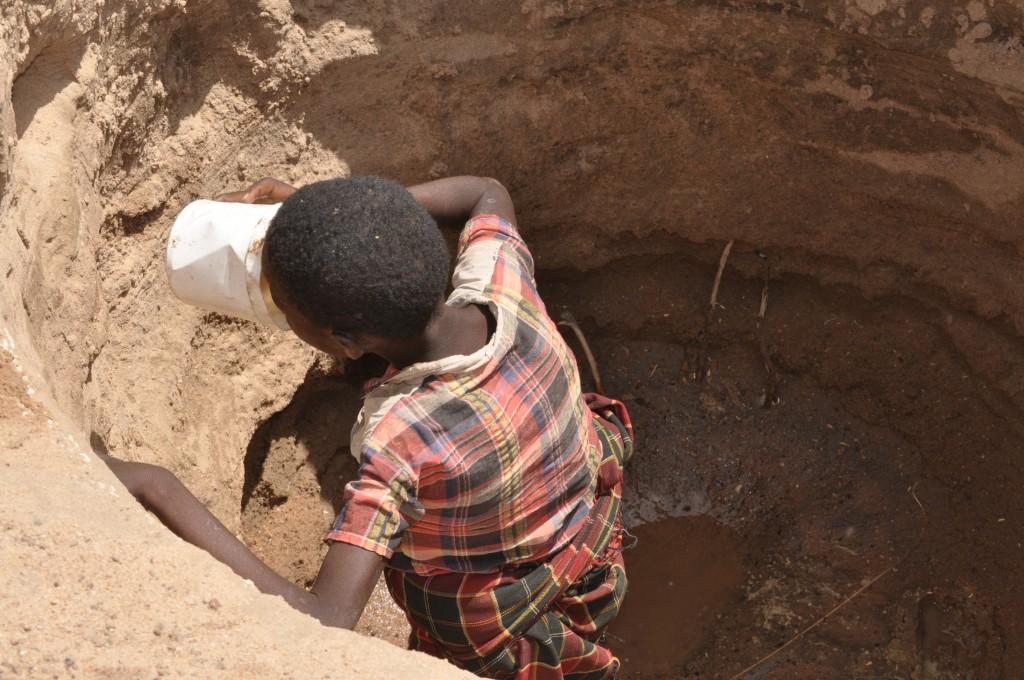 Nedostatok vody v povrchových studniach