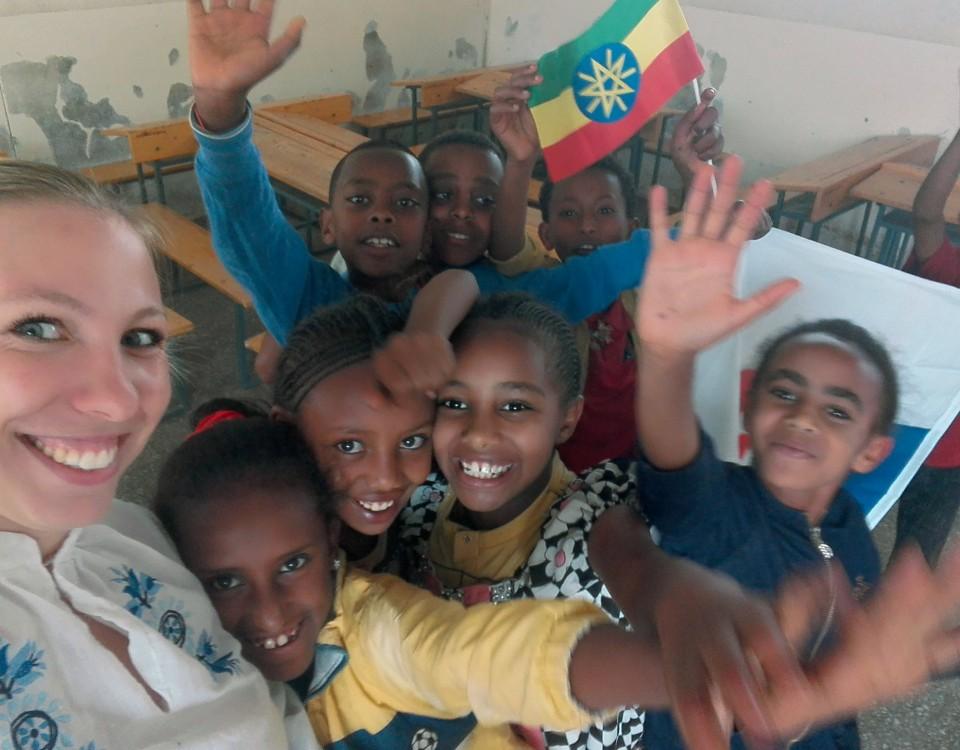 Žiaci z Maychew sa učili rozdiely medzi Slovenskom a Etiópiou, 2017