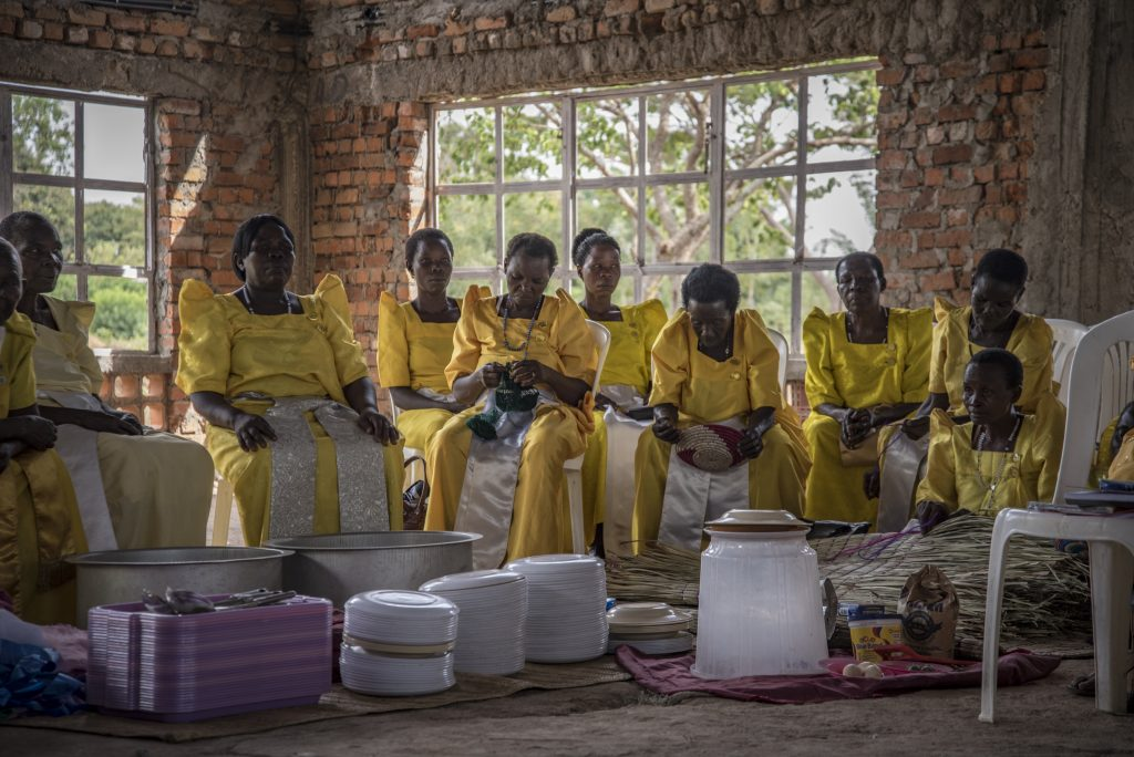 Ženy z okolia dediny Mulanga
