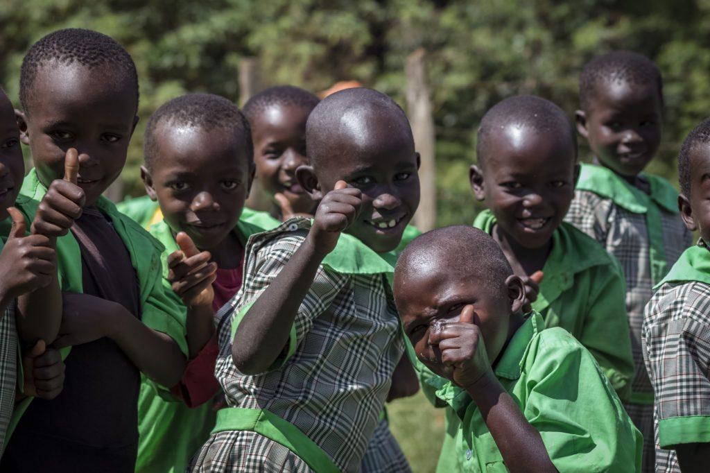 Deti z neformálneho vzdelávacieho centra Hekima