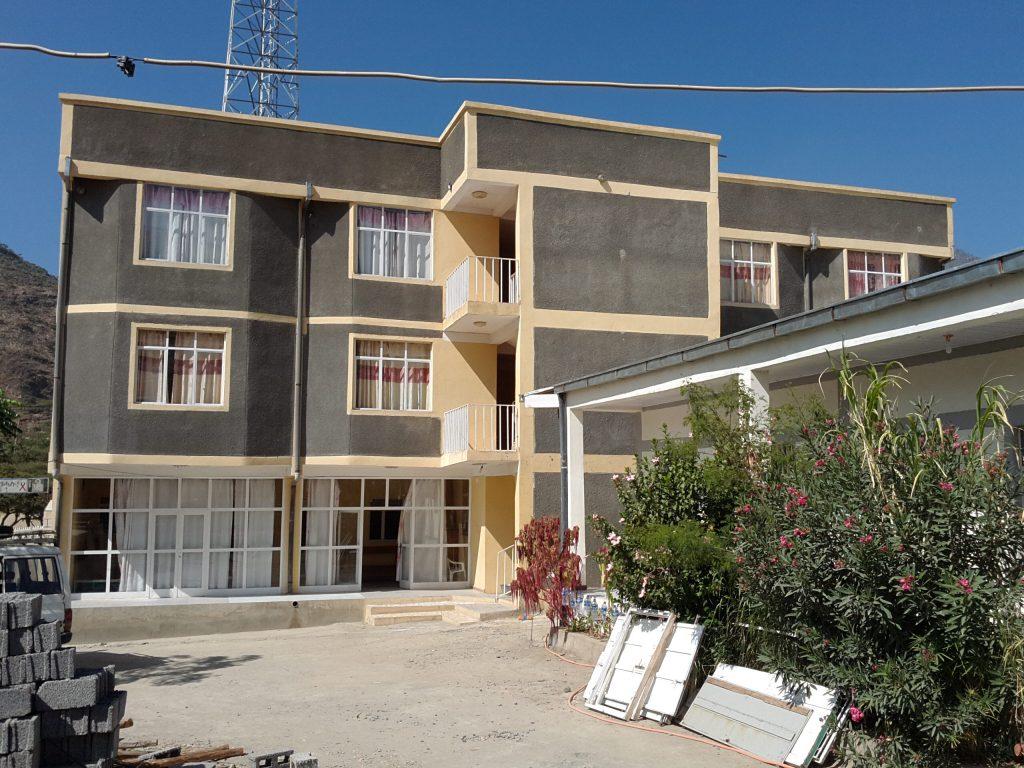 Budova zdravotného strediska v Alitene