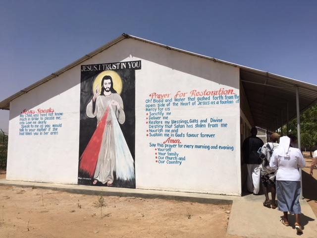 Modlitba na stene