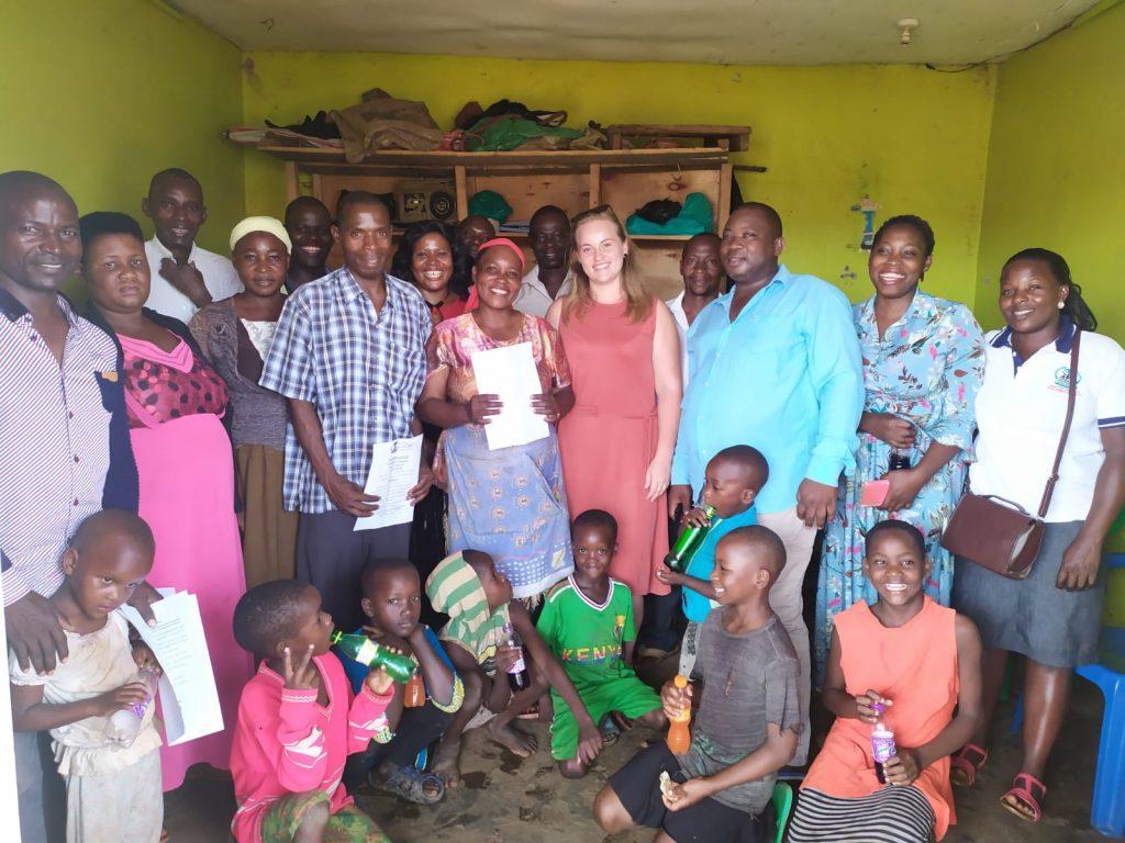 Návšteva obce Kayunga s vedením odbornej školy. Prezentovali sme možnosti štúdia na odbornom učilišti