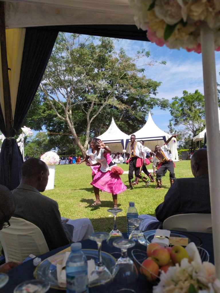 Introduction ceremony (tradičný obrad manželstva) - Nkwenge group