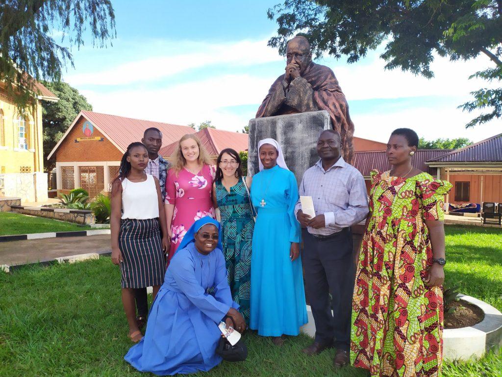 Návšteva hospicu v Kampale